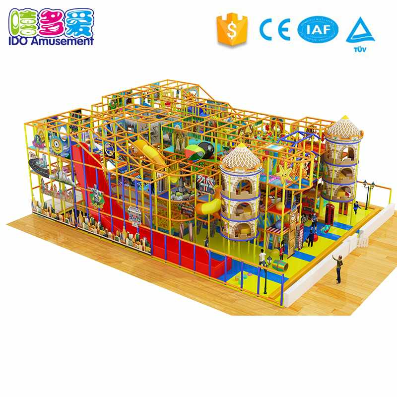 London Style Commercial Play Center Soft Indoor Playground Equipment Above 400m² Different Sizes of Indoor Playground image144